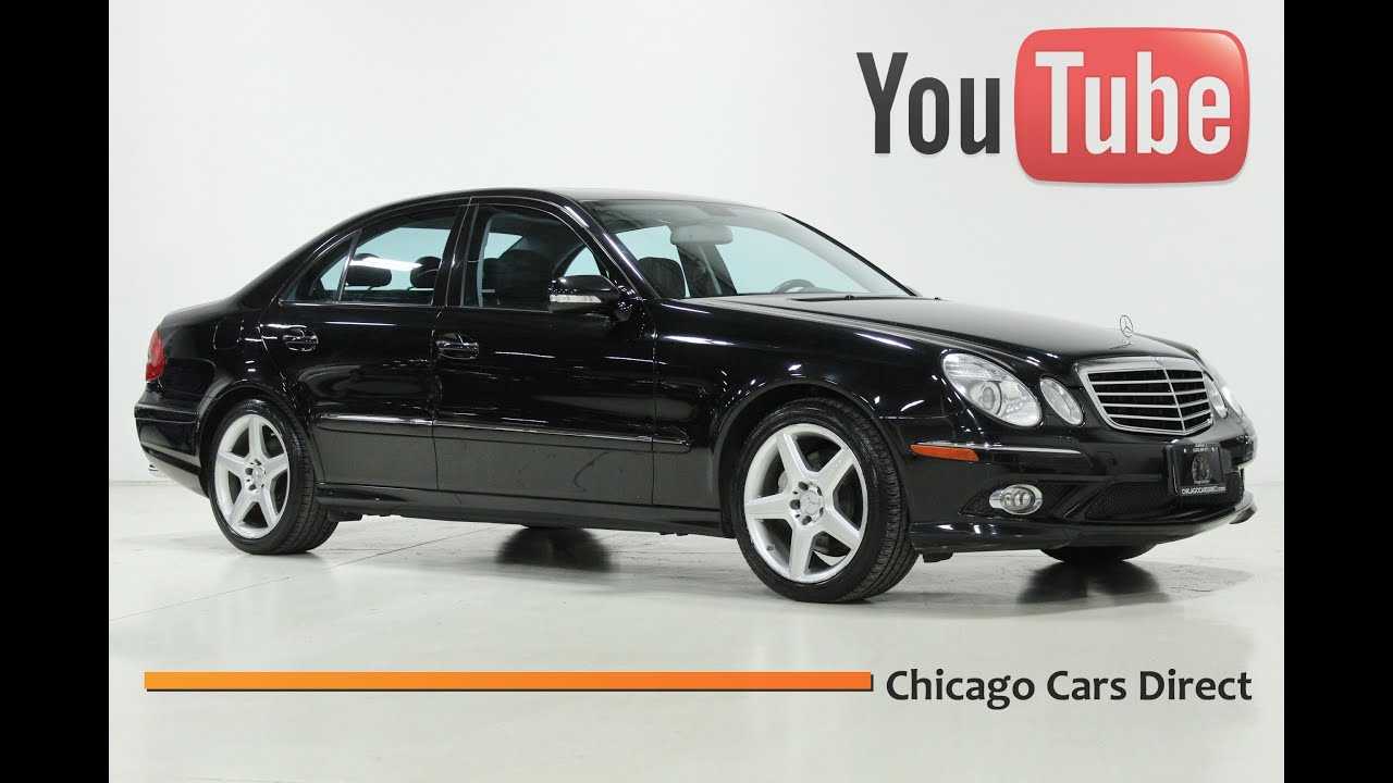 chicago cars direct presents a 2009 mercedes benz e550. Black Bedroom Furniture Sets. Home Design Ideas