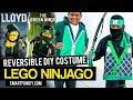 LEGO NINJAGO Movie Reversible GREEN NINJA Costume
