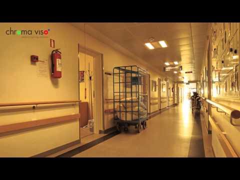 Circadian Rhythm Lighting on Aarhus University Hospital