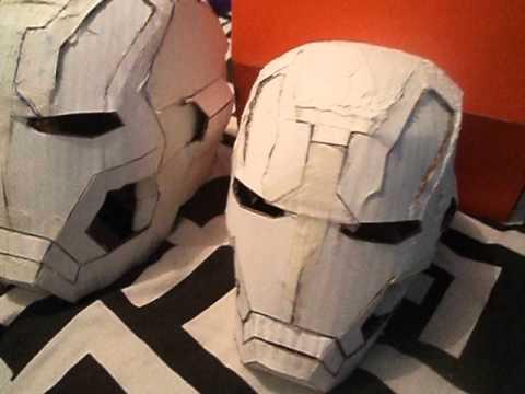 Iron Man Mk8 Pepakura Homem De Ferro Mark 8 Pepakura Youtube