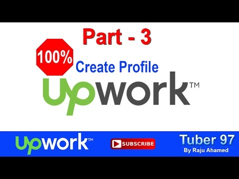 Part 3_ 100% Upwork Profile  | How To Complete 100% Upwork Profile | Upwork Bangla Video Tutorial