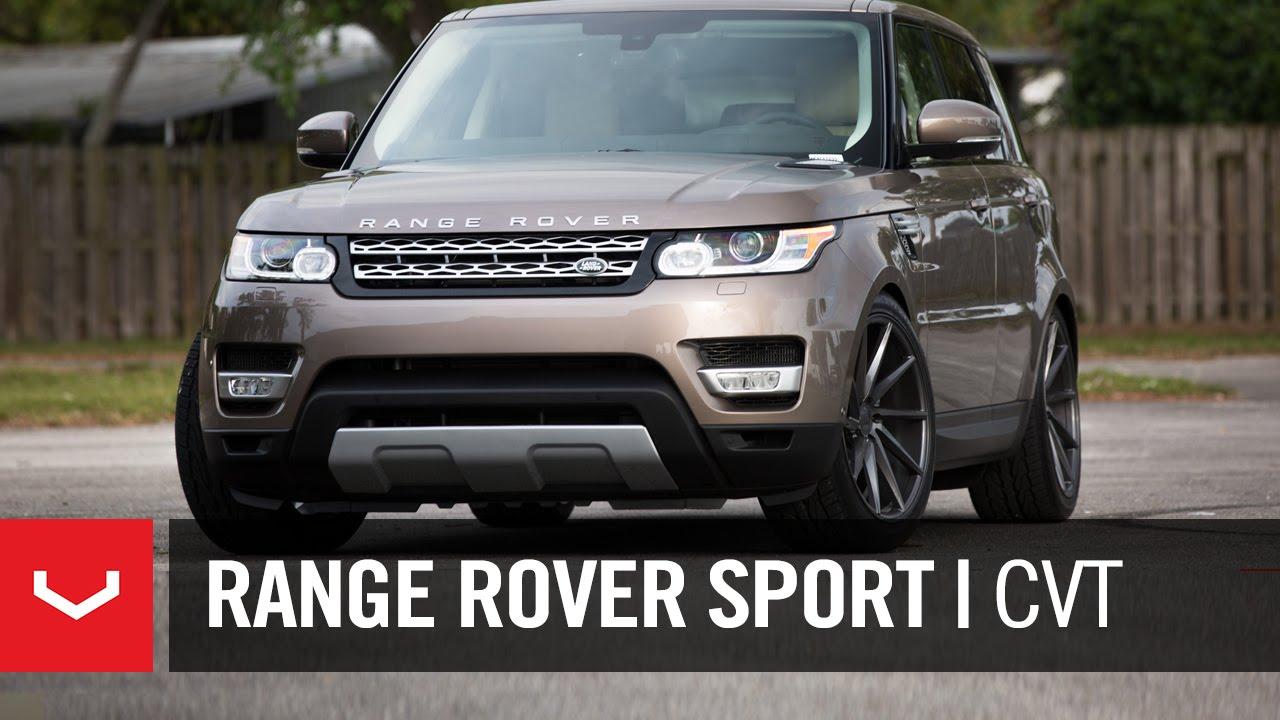 "Range Rover Sport | ""Sexual Chocolate"" | Vossen 22"" CVT ..."