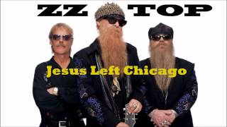 ZZ TOP - Jesus Left Chicago  (Backing Track)