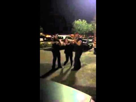 Cop Sneaks Up Behind Woman and Knocks Her Unconscious -- Says She's Faking It