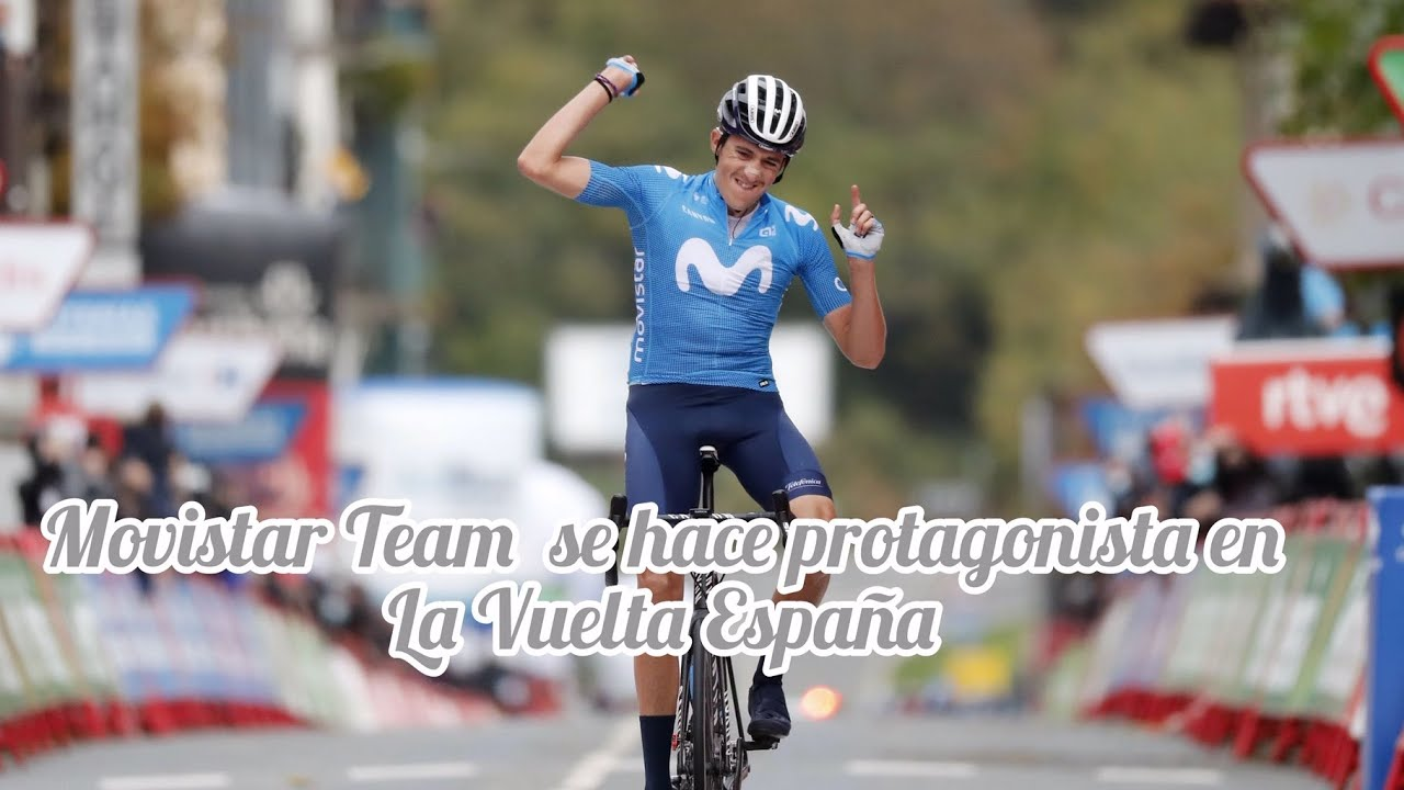 El Movistar Team gana protagonismo en la Vuelta España.