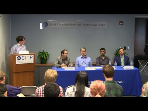 CITP Lecture Series: Internet Privacy Technology and Policy: What Lies Ahead?