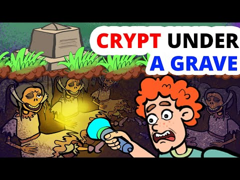 I Found A Crypt In A Cemetery And You Won't Believe What Was There!