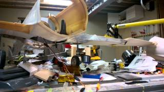 BVM T-33 Flap, aileron and speed boards