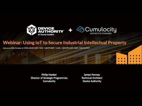 Using IoT to Secure Industrial Intellectual Property