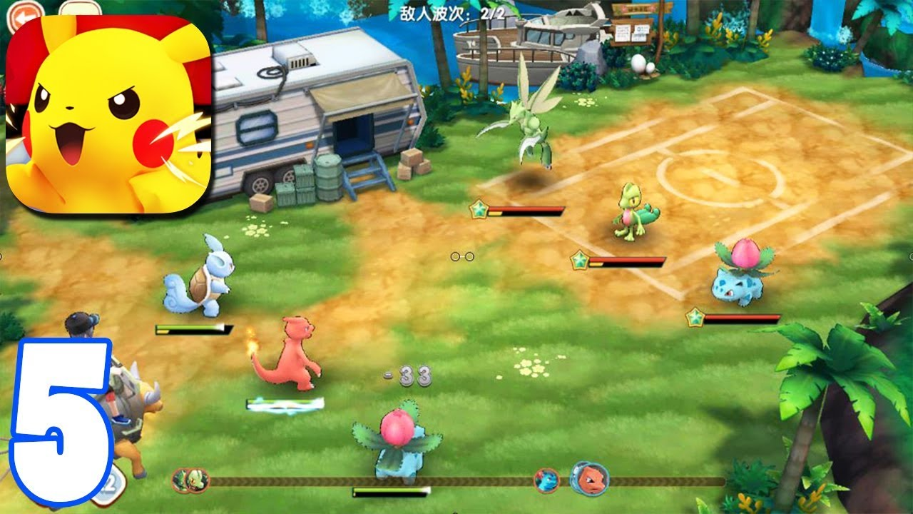 Gameplay of Pokémon