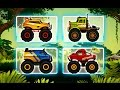 "Jungle Monster Truck For Kids ""Racing Action & Adventure Games"" Android Gameplay Video"