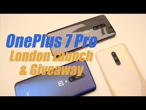 OnePlus 7 Pro London Launch Event and Giveaway!