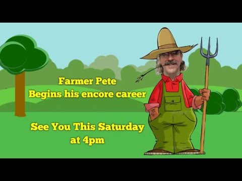 Farmer Pete off on a new adventure
