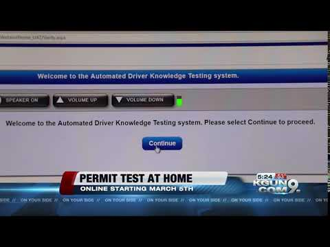 Arizona to allow online written testing for driver's license
