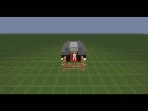 Minecraft como hacer una casa para perro y te ir su - Como hacer una casa de perro ...