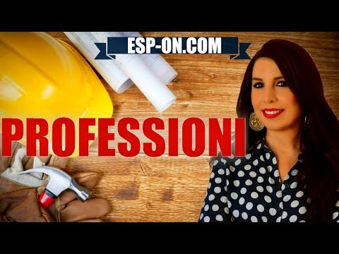 Italian Lesson 11 - Jobs and Professions