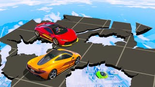 EXTREME DESTRUCTIBLE SKY DERBY! (GTA 5 Funny Moments)