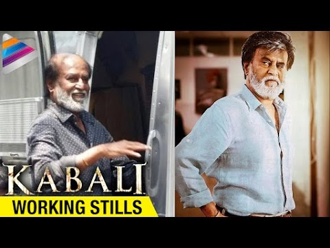 rajinikanth kabali movie latest working stills radhika apte