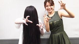 8月30日に公開した貞子3D2に出演している瀧本美織 貞子の子・・・...
