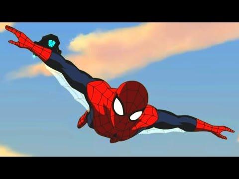 Великий Человек-Паук. Все серии подряд Сборник мультфильмов Marvel о супергероях. Сезон1 Серии 13-16