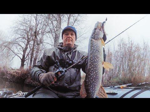 Ловля щуки на джиг. Рыбалка с лодки на реке. Попытка закрыть сезон N1