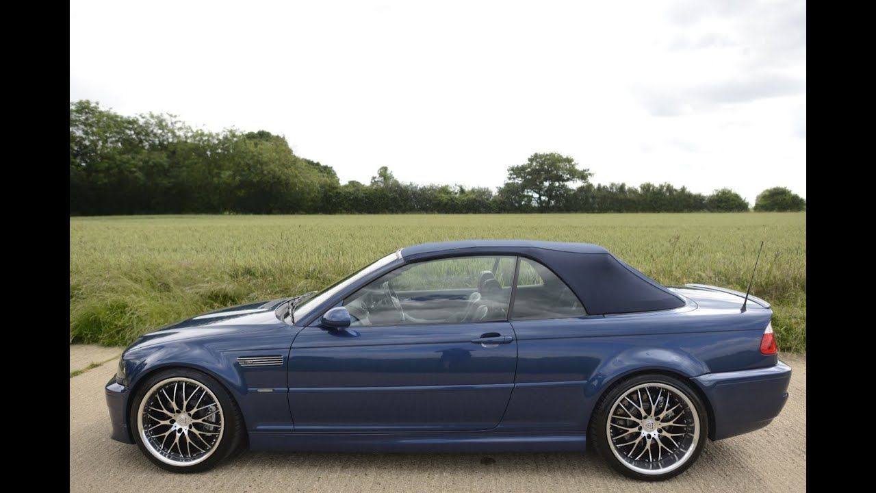 2002 bmw m3 convertible smg ii formula one f1 paddle gearbox video