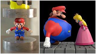 20 Fun ways to kill Super Mario [Death animations] 🤪