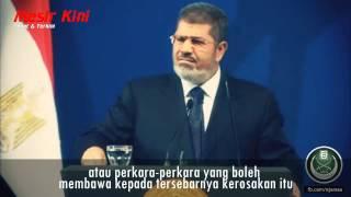 Presiden Muhammad Mursi : Seluruh dunia bersamamu!