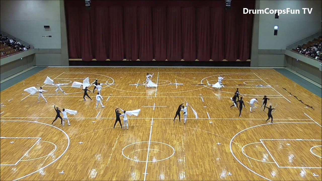 2018 WGJ Color Guard 1位 Via Colorguard