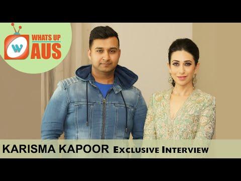 Karisma Kapoor talks about Kareena | Exclusive Interview |  WhatsUpAus