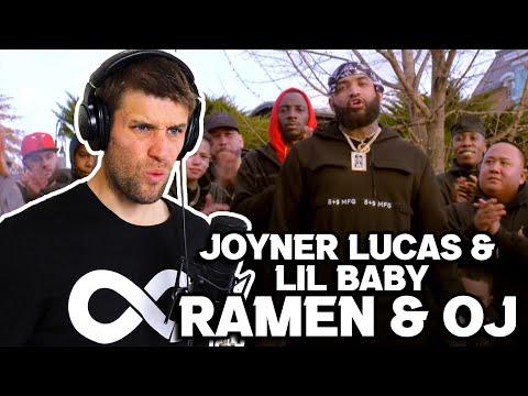 Rapper Reacts to JOYNER LUCAS & LIL BABY!! | RAMEN & OJ (First Reaction)