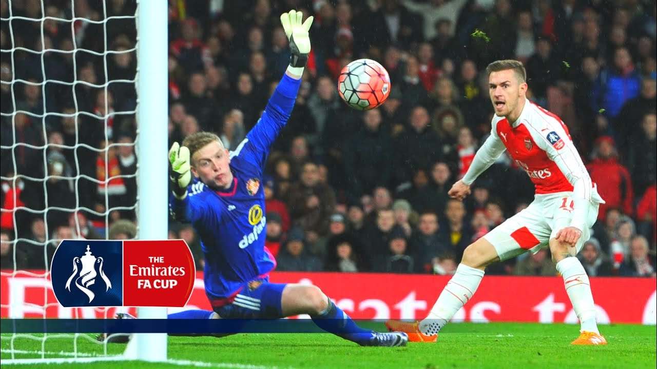 Arsenal 3-1 Sunderland - Emirates FA Cup 2015/16 (R3) | Goals & Highlights