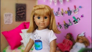 A Day in the Life of Nellie (American Girl Stopmotion)