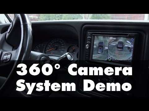 360 Surround View Camera System Rvs 77535 Demo Youtube