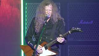 Megadeth Live 2021 🡆 Trust 🡄 Aug 22 ⬘ The Woodlands, TX