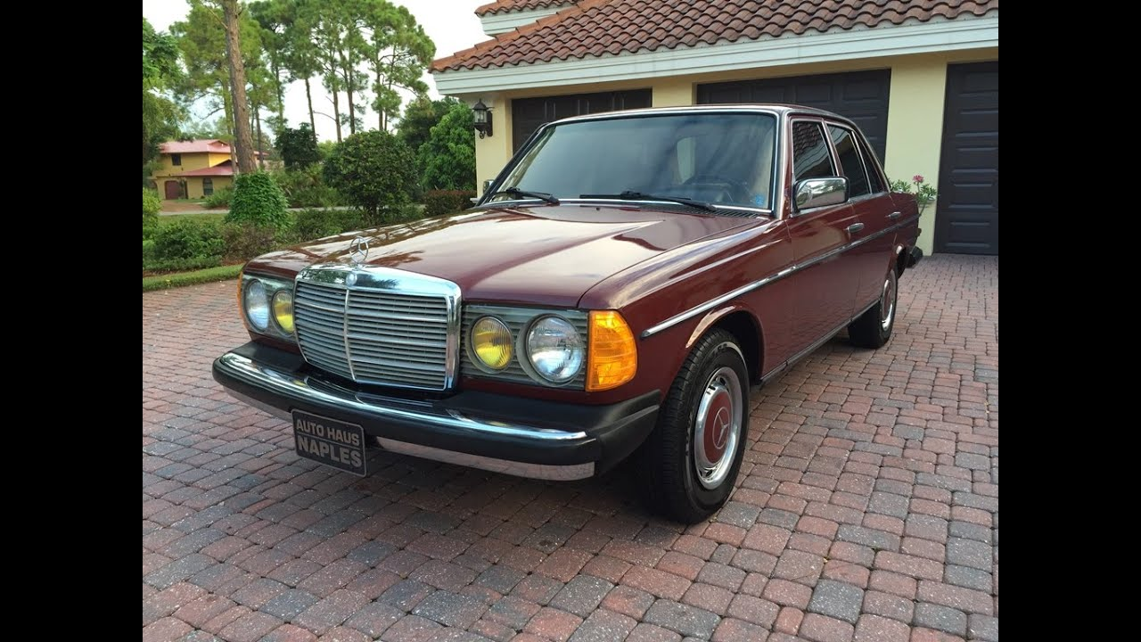 Sold test drive 1983 mercedes benz 240d for sale by for Mercedes benz 240 d