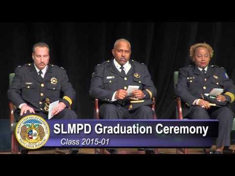 SLMPD 2015-01 Class Graduation