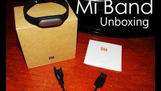 Xiaomi Mi Band Unboxing India - Fitness Band & Sleep Tracker
