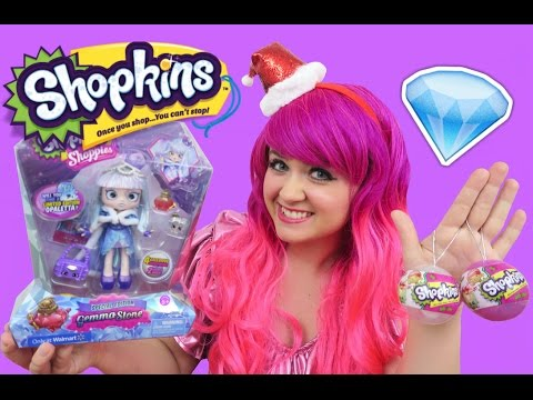 Shopkins Special Edition Gemma Stone Shoppie +  Christmas Ornaments | TOY REVIEW | KiMMi THE CLOWN