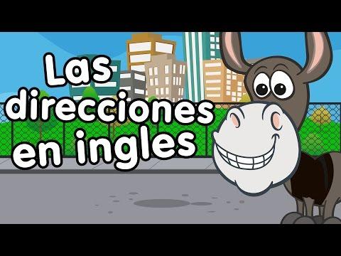 Direcciones en inglés - Canciones Infantiles - Doremila