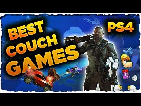 Best Couch Co-Op Splitscreen Games on PS4