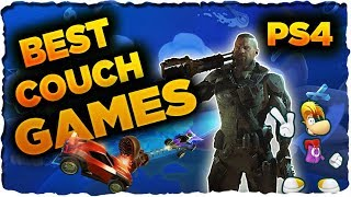 Best Couch Co-Op Splitscreen Games on PS4