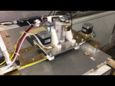ultra DIY CNC mill  - first cut