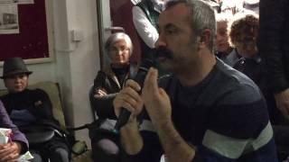 Tunceli Ovacık Belediye Başkanı Mehmet Maçoğlu Datça'da