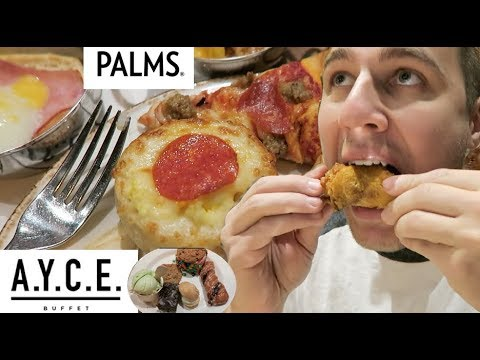Palms A.Y.C.E Buffet Las Vegas ALL YOU CAN EAT