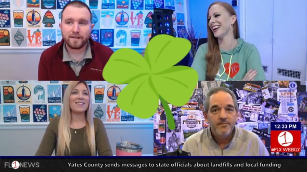 Feeling springy and Irish in the Finger Lakes .::. FLX Weekly with Jessica Lahr 3/13/19