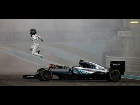 Nico Rosberg Abu Dhabi gp