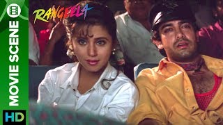 Urmila Matondkar on a movie date with Aamir Khan | Rangeela