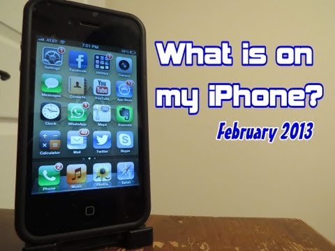 What's on my iPhone? - February 2013 - Apps, Games, Wallpapers.