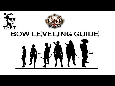 Path of Exile: Beginner's guide -  Leveling with a bow * Rain of Arrows * PoE